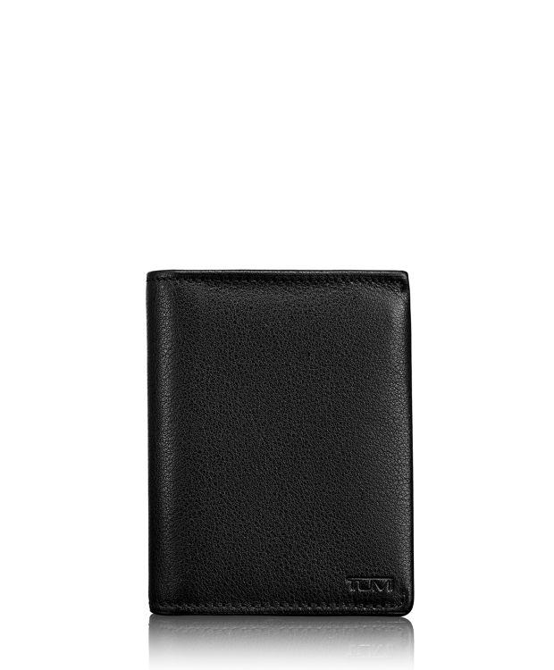 TUMI ID Lock™ L-Fold in Black Textured