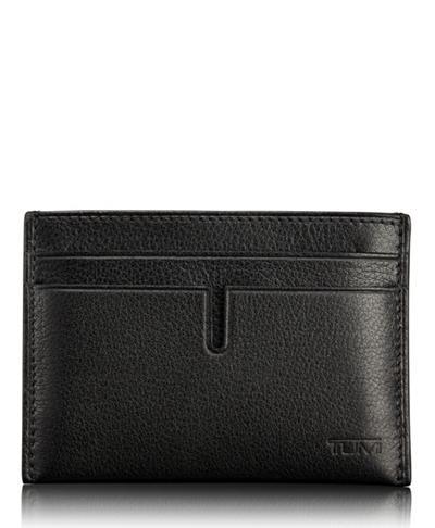da83ba8f050f TUMI ID Lock™ Slim Card Case - Nassau - Tumi United States - Black ...