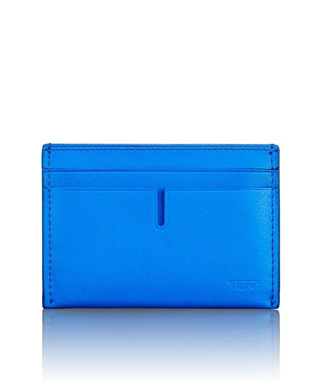TUMI ID Lock™ Slim Card Case in Electric Blue