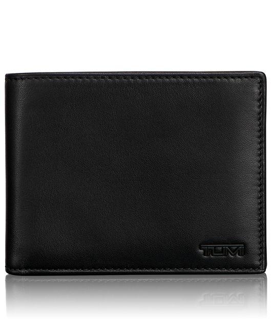 Global Coin Wallet in Black