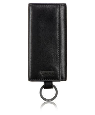 Tri-Fold Key Case in Black