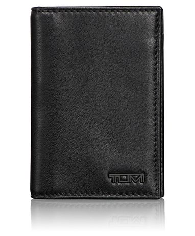 Multi Window Card Case in Black