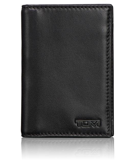 Multi Window Card Case in Black