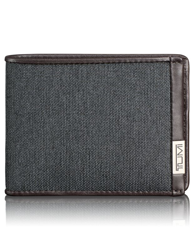 Double Billfold in Anthracite
