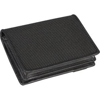 GUSSETED CARD CASE Black - medium | Tumi Thailand