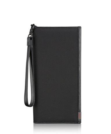 Zip Travel Case in Black