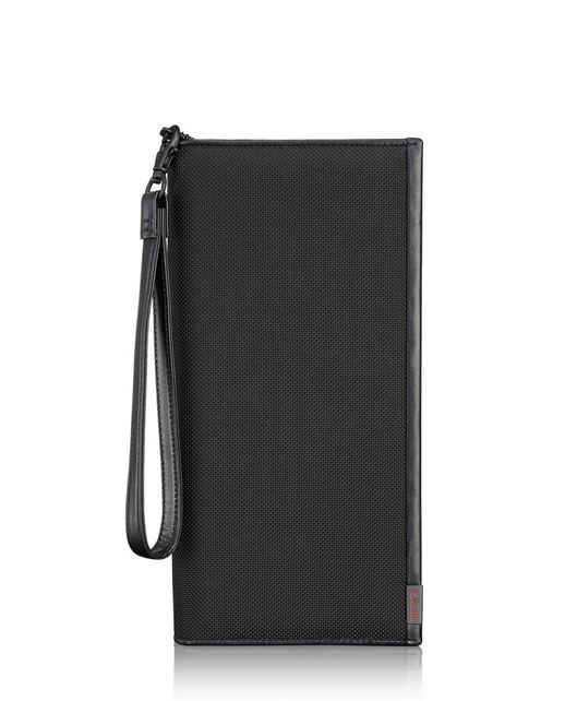 Zip Travel Case in Black