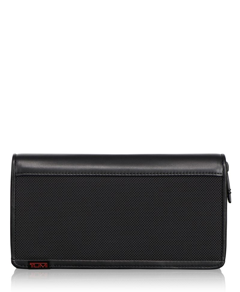 TUMI ID Lock™ Zip-Around Travel Wallet
