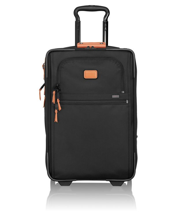 International Expandable 2 Wheeled Carry-On in Tan