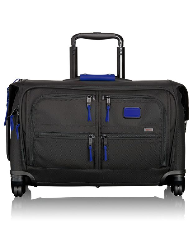 Carry-On 4 Wheeled Garment Bag in Atlantic