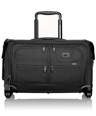 Carry-On 4 Wheeled Garment Bag - Alpha 2 - Tumi United States - Black f0bd4f474c