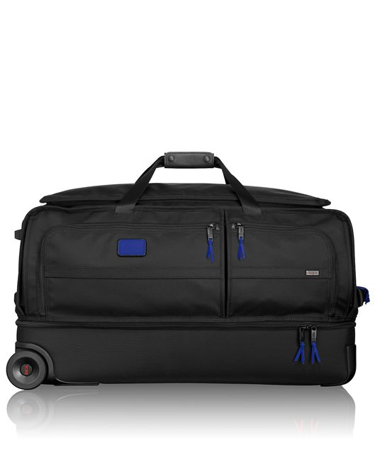 Large Wheeled Split Duffel in Atlantic