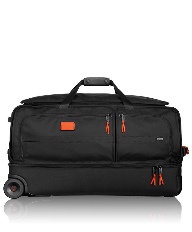 Large Wheeled Split Duffel in Sunrise