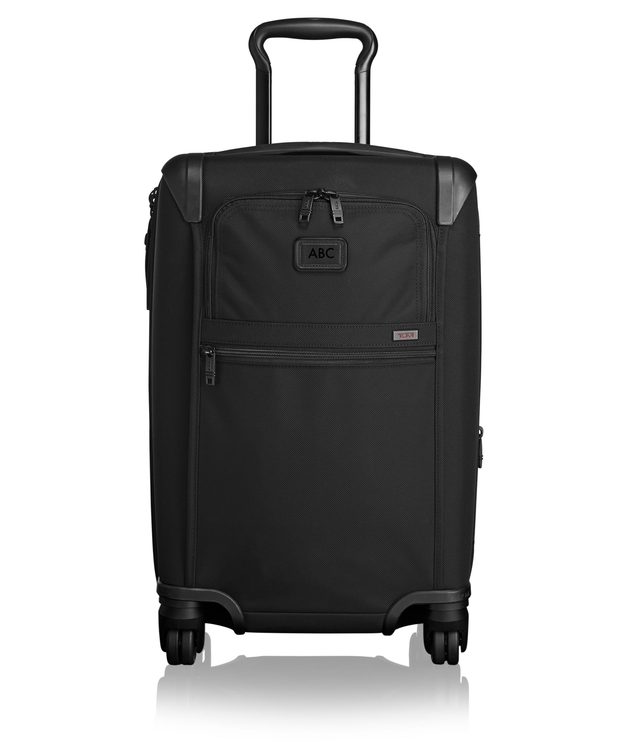 international expandable 4 wheeled carry on alpha 2 tumi