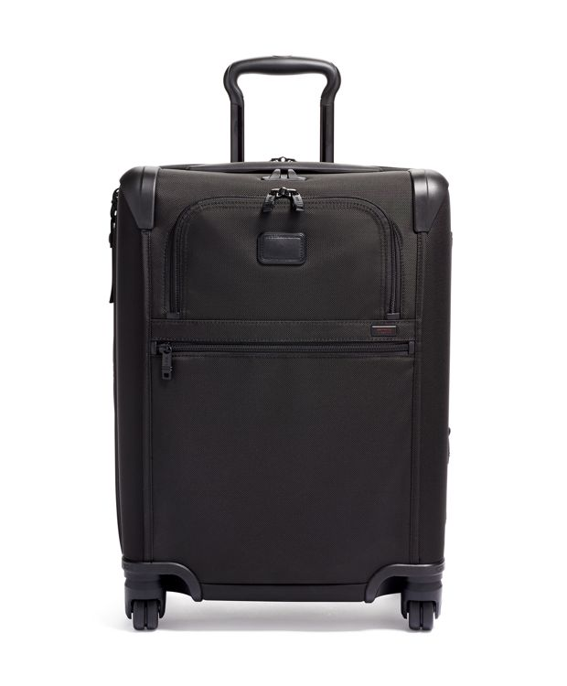 Continental Expandable 4 Wheeled Carry-On in Black
