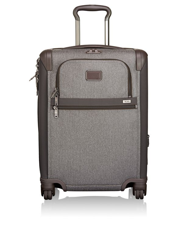 Continental 4 Wheeled Expandable Carry-On in Earl Grey