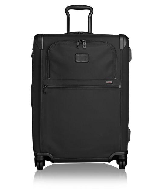 Short Trip Expandable 4 Wheeled Packing Case in Black