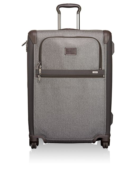 Short Trip Expandable 4 Wheeled Packing Case in Earl Grey