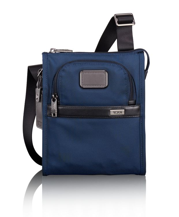 Pocket Bag Small in Navy/Black