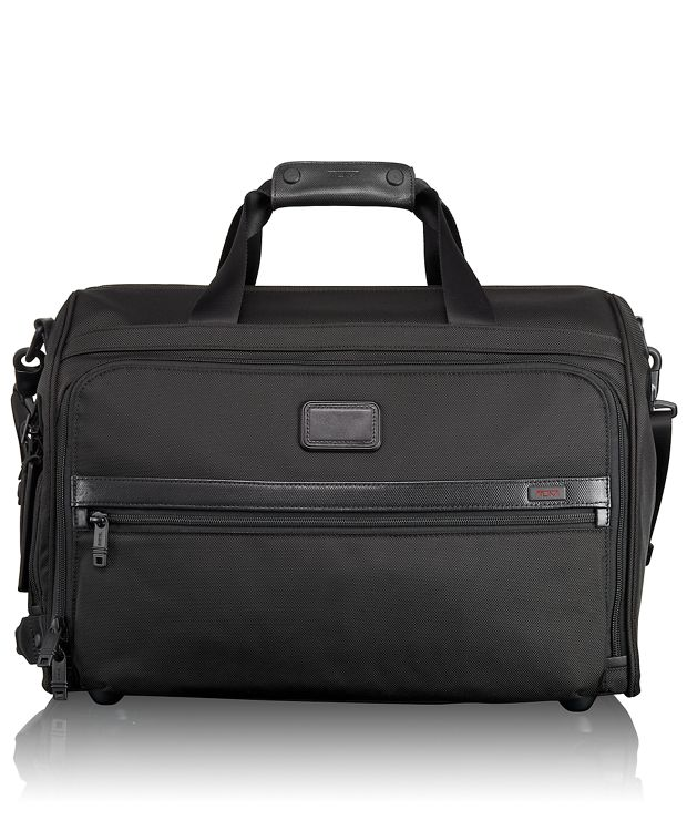 Framed Soft Duffel in Black