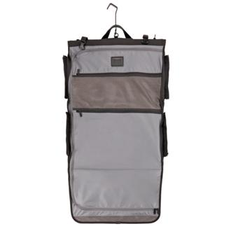 Tri Fold Carry On Garment Bag In Black