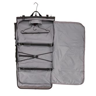 Tri Fold Carry On Garment Bag In Black