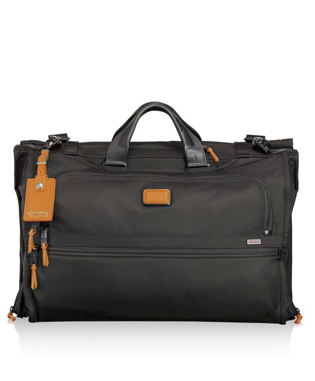 Tri-Fold Carry-On Garment Bag in Tan