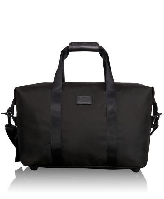 Small Soft Travel Satchel in Black