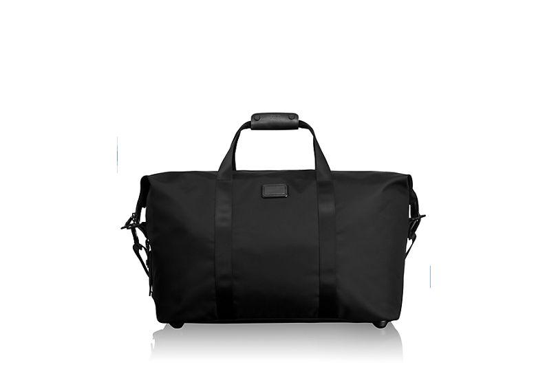Large Soft Travel Satchel in Black