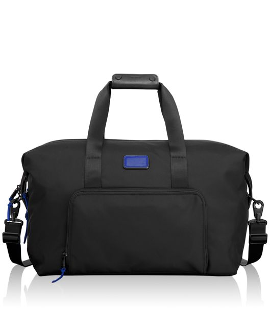 Double Expansion Travel Satchel in Atlantic
