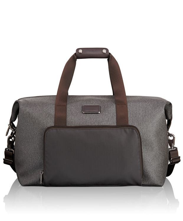 Double Expansion Satchel in Earl Grey