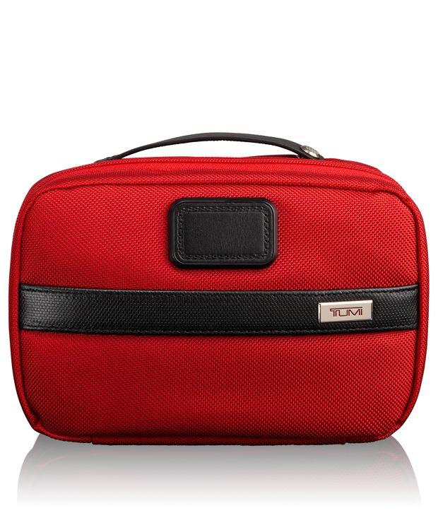Split Travel Kit in Red