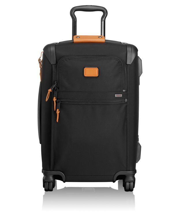 International Framed 4 Wheeled Carry-On in Tan
