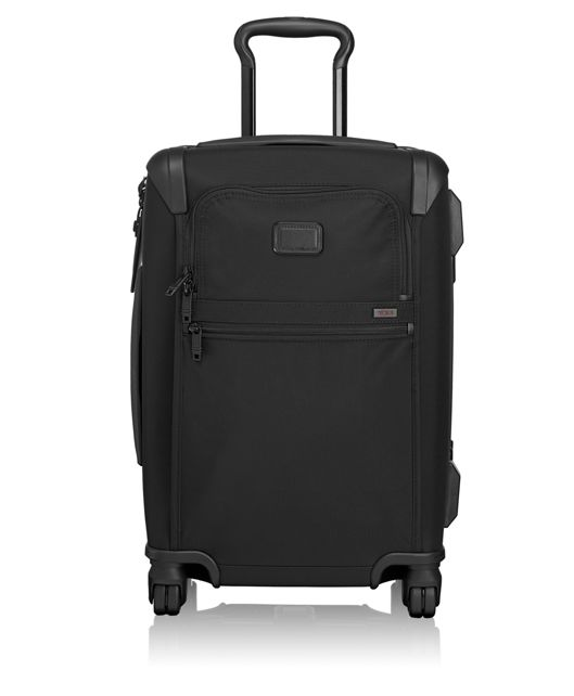 International Framed 4 Wheeled Carry-On in Black