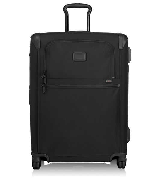 Short Trip Framed 4 Wheeled Packing Case in Black