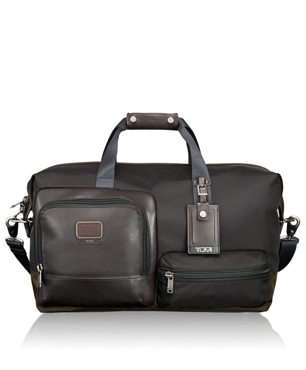 Grissom Travel Satchel in Hickory