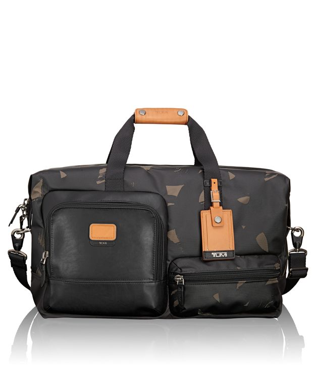 Grissom Travel Satchel in Smoke Character