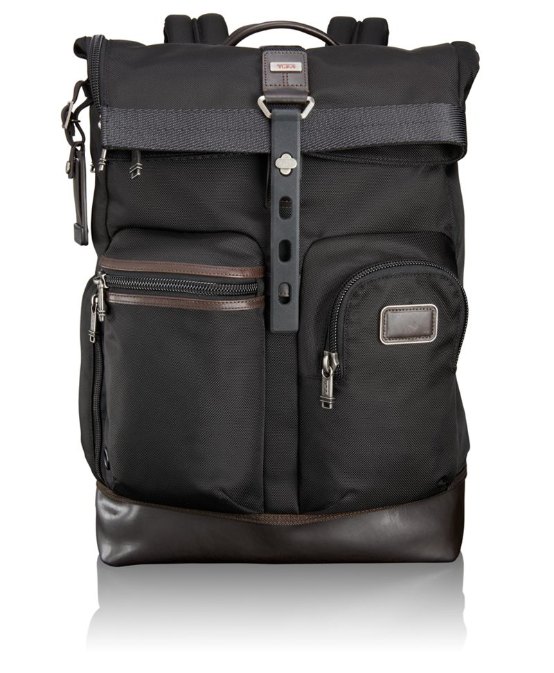 Luke Roll Top Backpack