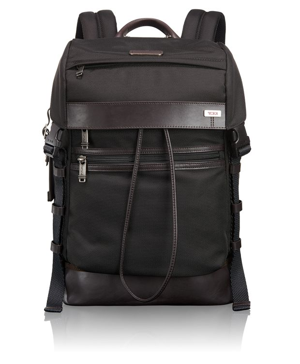 Kinser Flap Backpack in Hickory