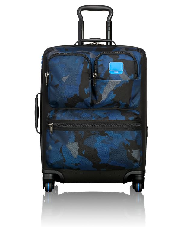 Kirtland Continental Expandable Carry-On in Blue Camo