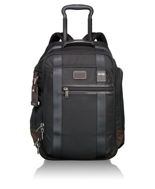 Peterson Wheeled Backpack in Hickory
