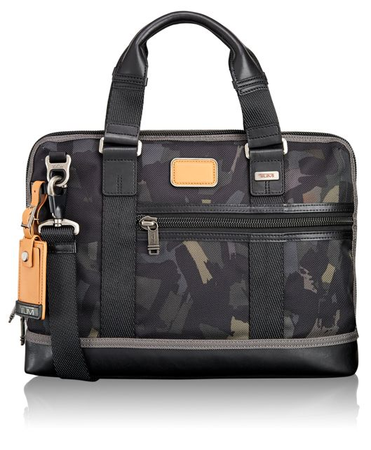 Earle Compact Brief in Grey/Camo