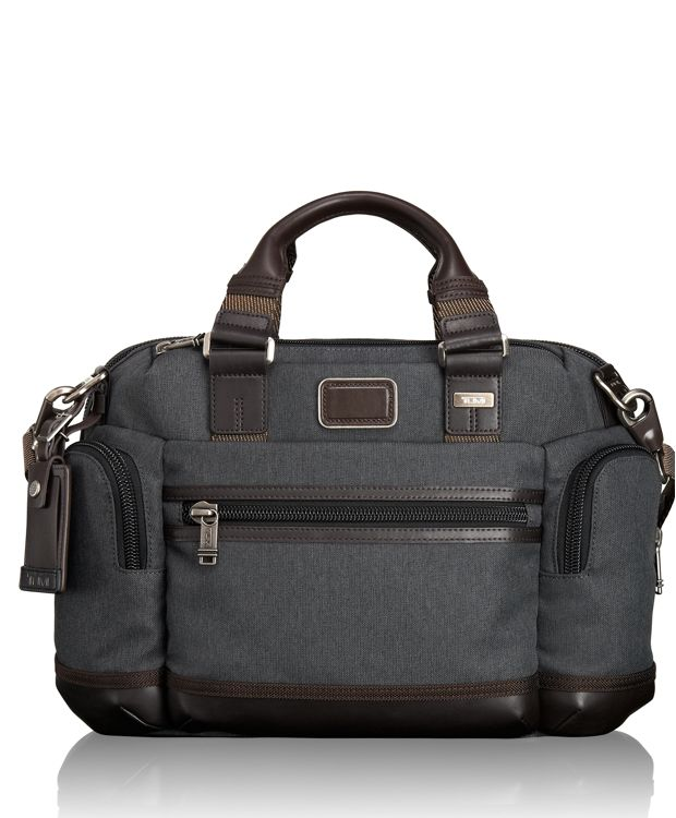 Brooks Slim Brief in Anthracite