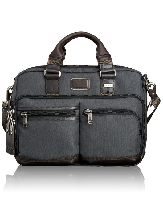 Andersen Slim Commuter Brief in Anthracite