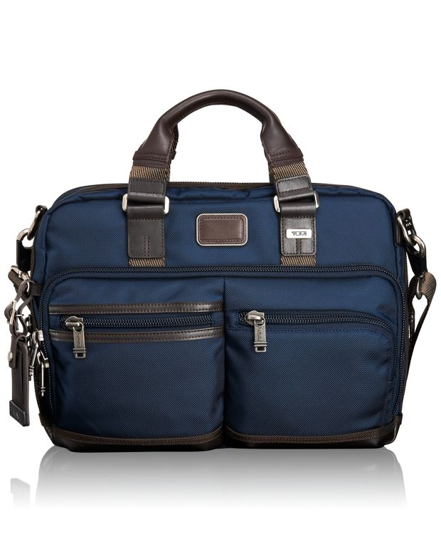 Andersen Slim Commuter Brief in Navy