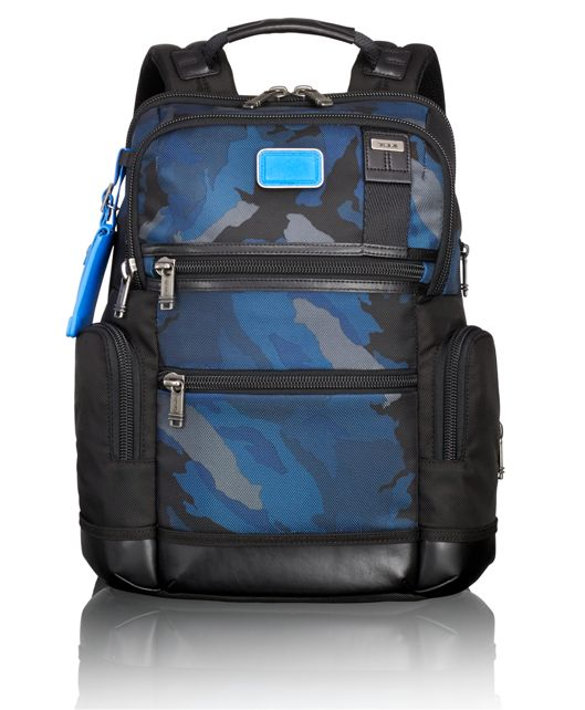 Knox Backpack in Blue Camo