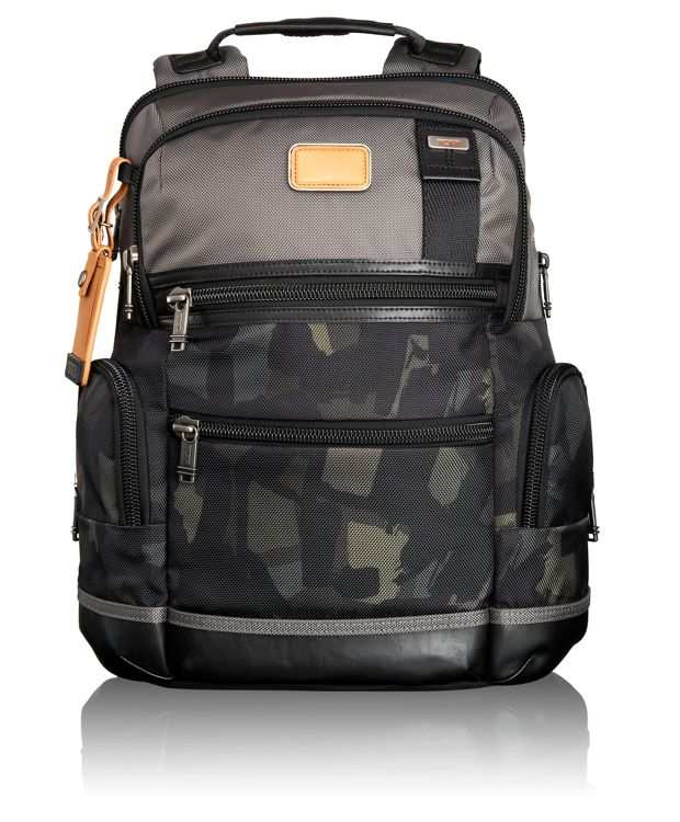 Knox Backpack in Grey/Camo