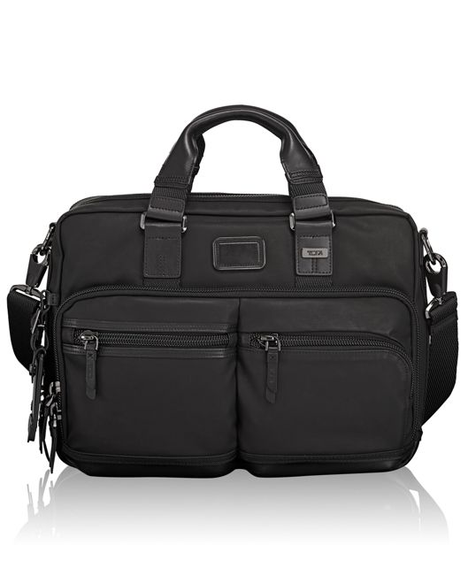 Andersen Slim Commuter Brief in Black