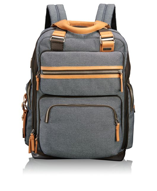 Backpack-Removable Sling and Tote in Masonry Grey