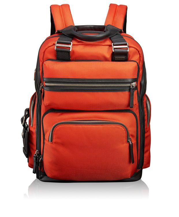 Backpack-Removable Sling and Tote in Orange